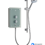 MIRA AZORA FROSTED GLASS 9.8kW ELECTRIC SHOWER